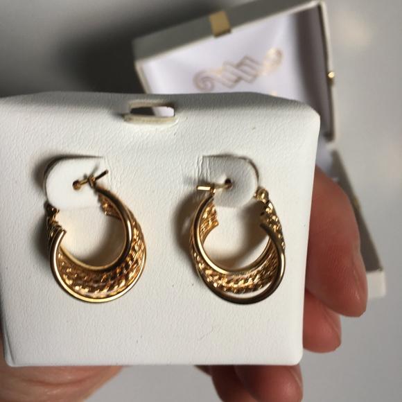 e5fc8e544 jcpenney Jewelry | 14k Gold Hoop Earrings | Poshmark